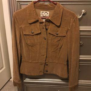 XOXO corduroy jacket